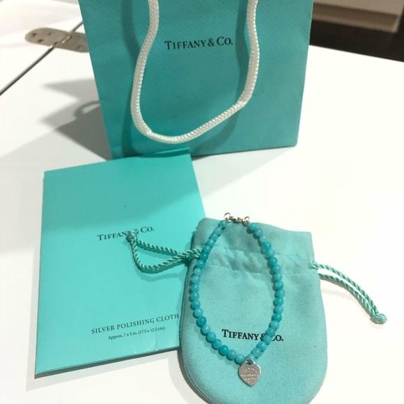 023c663d51a7 Tiffany   Co Mini Heart Tag Bead Bracelet. M 5bd8994b03087cd92521d91c